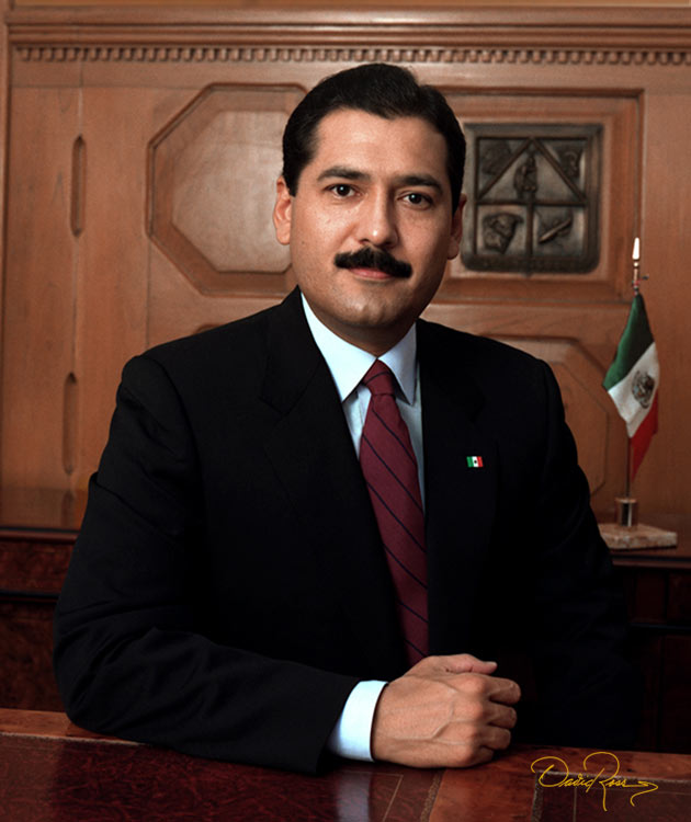 Manlio Fabio Beltrones Rivera - Gobernador de Sonora 1991-1997 - David Ross - Fotógrafo de Gobernadores
