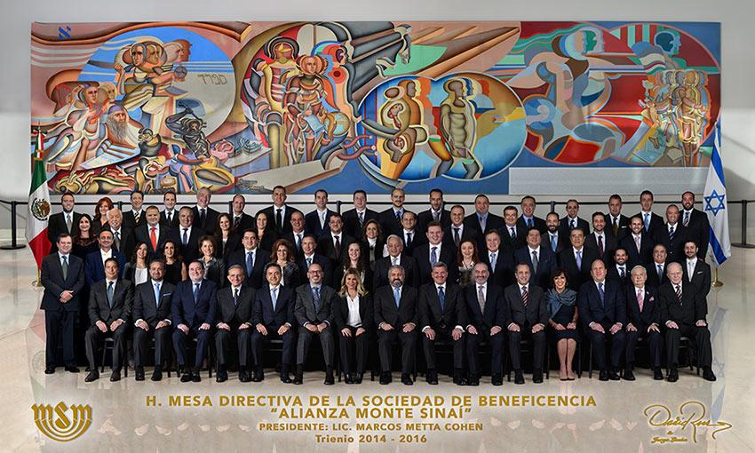 Mesa Directiva Alianza Monte Sinaí - David Ross - Fotografo de Grupos