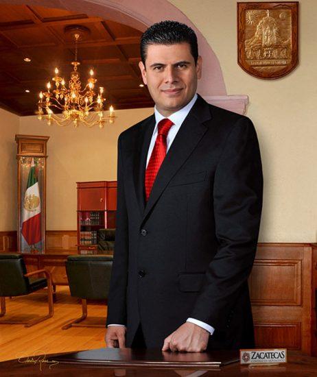 Miguel Alejandro Alonso Reyes - Gobernador de Zacatecas 2010-2016 - David Ross - Fotógrafo de Gobernadores