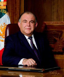 Renato Vega Alvarado - Gobernador de Sinaloa 1993-1998 - David Ross - Fotógrafo de Gobernadores