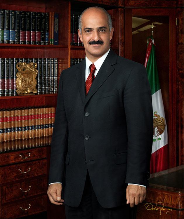 Ricardo Ahued Bardahuil - Presidente Municipal de Xalapa 2005-2007 - David Ross - Fotógrafo de Presidentes Municipales