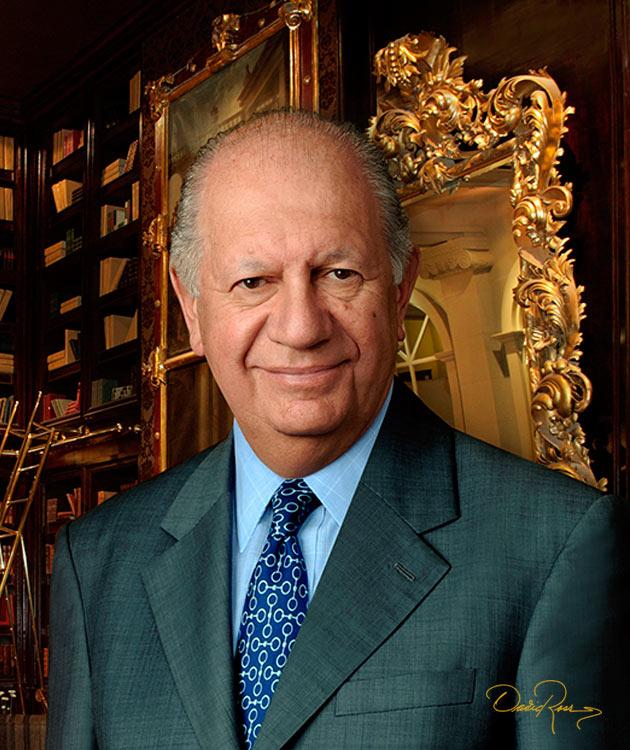 Ricardo Froilán Lagos Escobar - Abogado, economista y Presidente de la República de Chile - David Ross - Fotógrafo de Políticos