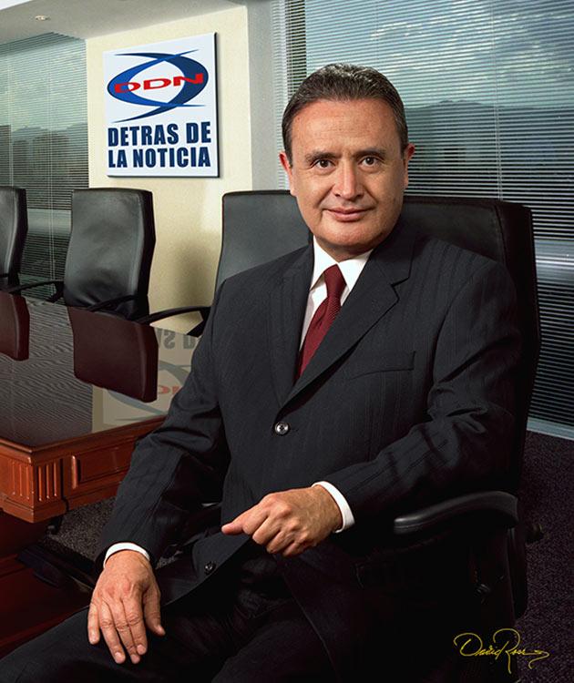 Ricardo Rocha - Periodista - David Ross - Fotógrafo de Comunicadores