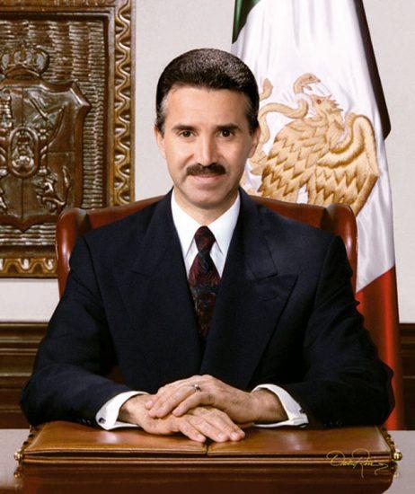 Roberto Madrazo Pintado - Gobernador de Tabasco 1995-1999 - David Ross - Fotógrafo de Gobernadores