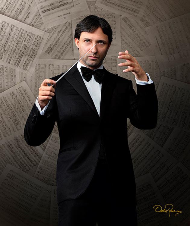 Rodrigo Macías - Director de Orquesta y Compositor Mexicano - David Ross - Fotógrafo de Músicos y Artistas