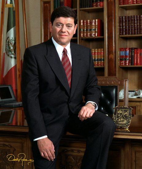 Rogelio Montemayor Seguy - Gobernador de Coahuila 1993-1999 - David Ross - Fotógrafo de Gobernadores
