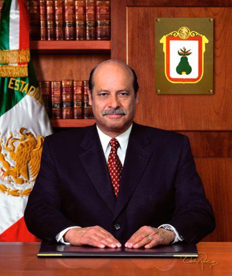 Salvador Joaquín Robles Uribe - Presidente Municipal de Metepec 2003-2006 - David Ross - Fotógrafo de Presidentes Municipales