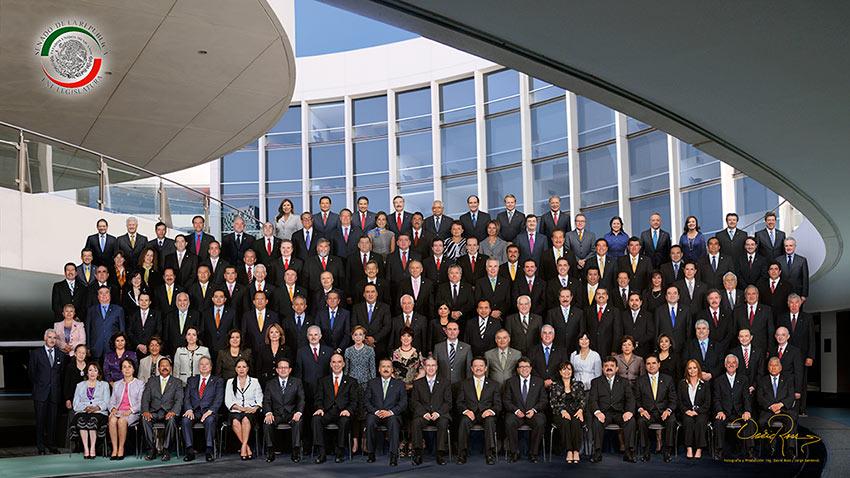 Senado de la República LXI Legislatura - David Ross - Fotografo de Grupos