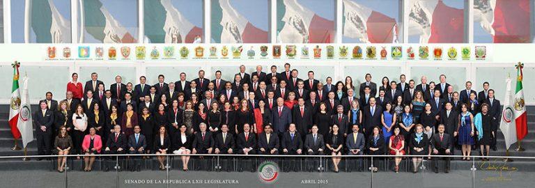 Senado de la República LXII Legislatura - David Ross - Fotografo de Grupos