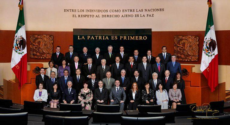 Senadores del PAN LXII Legislatura - David Ross - Fotografo de Grupos