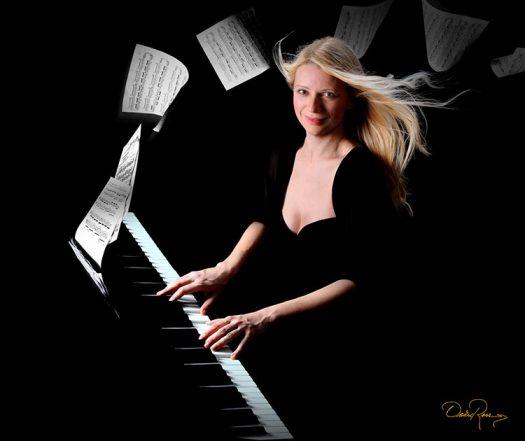 Valentina Lisitsa - Pianista - David Ross - Fotógrafo de Músicos y Artistas