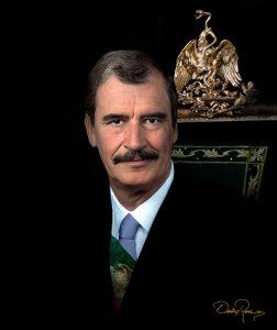 Vicente Fox Quesada - Empresario, político mexicano y Presidente de México - David Ross - Fotógrafo de Presidentes