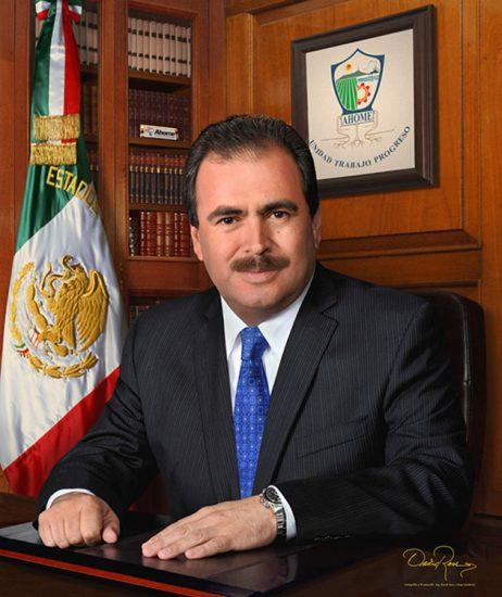 Zenén Arón Xóchihua Enciso - Presidente Municipal de Ahome, Sinaloa 2010-2013 - David Ross - Fotógrafo de Presidentes Municipales