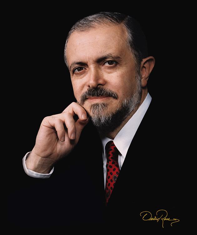 Mario Molina - Premio Nobel de Química - David Ross Fotógrafo de Personalidades